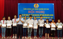 Thái Bình: Khen thưởng con CNVC-LĐ vượt khó, học giỏi
