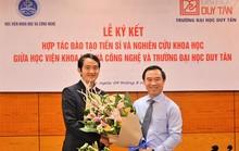 ĐH Duy Tân hợp tác với Học viện Khoa học và Công nghệ đào tạo tiến sĩ