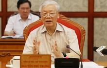 Ban Bí thư chấn chỉnh công tác cán bộ chuẩn bị cho đại hội đảng bộ các cấp và Đại hội XIII