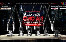 MC- nhà báo Lại Văn Sâm cầm trịch show truyền hình mới về việc làm