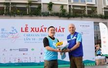 Đoàn Caravan Thư viện 2030 xuất phát tặng thư viện cho học sinh nghèo tại Ninh Thuận