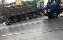Xe hổ vồ sang đường cán chết 1 phụ nữ nước ngoài đi xe máy