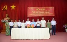 """Bộ Tư lệnh Cảnh sát biển và tỉnh Kiên Giang ký kết chương trình """"Cảnh sát biển đồng hành cùng ngư dân"""""""