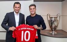 Bayern Munich: Hùm thêm cánh với Philippe Coutinho