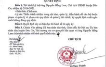 Tiếp tay chiếm đoạt tiền nghĩa trang, chủ tịch huyện bị cảnh cáo