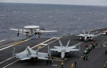 Mỹ: 4 tiêm kích bị đâm hỏng trên tàu sân bay