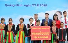 Chủ tịch Quốc hội Nguyễn Thị Kim Ngân vận động xây dựng trường học tại Quảng Ninh