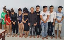 Hàng chục nam, nữ thanh niên đang phê ma túy trong khách sạn ở Quy Nhơn