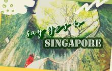 Từ mưa trong nhà đến nấc thang lên thiên đường, ra mà xem Singapore ngát xanh này!