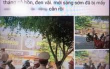 Vi phạm giao thông, xin không được liền chụp ảnh tung lên Facebook xúc phạm CSGT