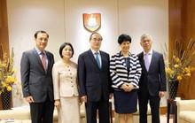 Bí thư Nguyễn Thiện Nhân đề xuất nhiều đầu việc để hợp tác giáo dục với Singapore