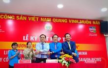 Vissan và Saigon Petro bán hàng giảm giá cho đoàn viên Công đoàn