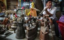 Choáng với chợ đồ cổ khủng giữa lòng thành phố