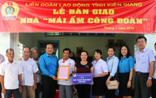 Kiên Giang: Giúp đoàn viên khó khăn an cư
