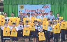Công ty CP Phân bón Bình Điền tiếp sức học sinh nghèo vùng U Minh Thượng