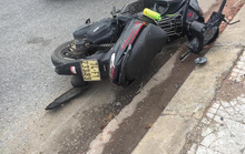 Xe máy tự gây tai nạn, 2 người chết, 1 người bị thương