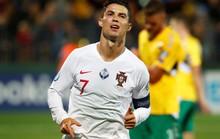 Ronaldo lập cú poker, Bồ Đào Nha vùi dập chủ nhà Lithuania