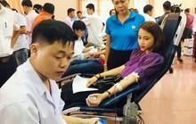 Quảng Trị: Hơn 450 đoàn viên hiến máu tình nguyện