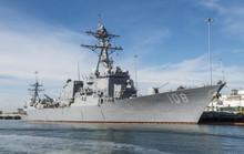 Mỹ điều tàu khu trục tới gần đảo nhân tạo trái phép của Trung Quốc ở biển Đông