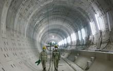 Diện mạo đường hầm Metro số 1 tại trung tâm TP HCM