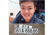 Giữa tâm bão mạng, chủ xe hơi bốc được số 61A-666.66 trao đổi riêng với Báo Người Lao Động