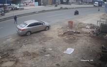 Người đàn ông mặc quần ngắn trộm ôtô đã bị tóm