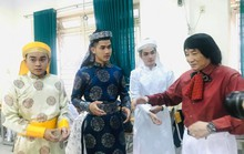 NSND Minh Vương đưa sân khấu lịch sử vào học đường
