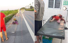 Chồng điều khiến xe máy gặp tai nạn, vợ cùng 2 con nhỏ ngã xuống đường tử vong