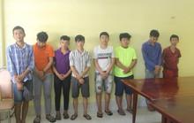 Bắt 8 đối tượng trong vụ mang hung khí vây công an và dân phòng tại Biên Hòa