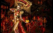 Kiều Loan mặc trang phục gắn 2000 bóng đèn led thi hoa hậu