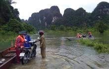 Điều ca nô đưa 2 sản phụ đi sinh kịp thời trong lũ dữ ở Quảng Bình
