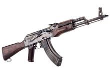 Bắt 2 đối tượng dùng súng AK cướp taxi