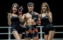 Nguyễn Trần Duy Nhất cám ơn vợ sau chiến thắng đầu tay tại ONE Championship 2019