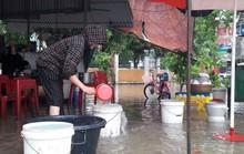 Bị cắt nước, bệnh viện phải dùng nước mưa
