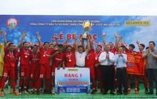 CLB Hoàng Gia đăng quang giải bóng đá thành phố mới Bình Dương 2019