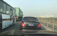 Siêu xe giá hơn 10 tỉ, không biển số chạy trên cao tốc TP HCM-Long Thành-Dầu Giây