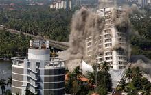 Nổ mìn giật sập 2 tòa chung cư cao cấp do xây trái luật
