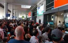 Căng sức chống nghẽn khu vực sân bay dịp Tết