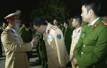 Phó Giám đốc Công an Ninh Bình làm trưởng đoàn kiểm tra nồng độ cồn cán bộ công an