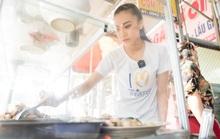 Á hậu Kim Duyên phụ gia đình bán cơm bình dân