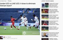 UAE và Jordan từng cố tình hòa có bàn thắng ở U23 châu Á