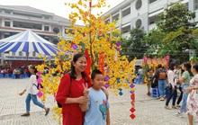 Tưng bừng hội chợ Nhà giáo và Mùa Xuân