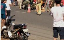 Trên đường về nhà, nữ sinh lớp 10 bị xe container tông tử vong