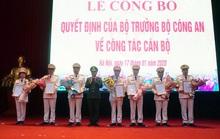 Bộ Công an điều động, bổ nhiệm 7 cán bộ lãnh đạo Công an Hà Nội