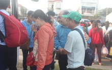 Lần thứ 3 Chuyến xe nghĩa tình đưa công nhân về quê đón Tết