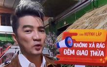 """Nghệ sĩ ủng hộ chiến dịch """"Không xả rác đêm giao thừa"""" của Huỳnh Lập"""