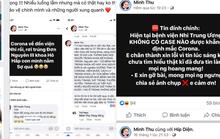 Truy tìm người đưa tin thất thiệt về bệnh do virus Corona trên facebook