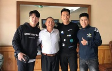 Xuân Trường rủ sao Hà Nội FC thăm thầy cũ trước ngày lên đường sang Hàn Quốc