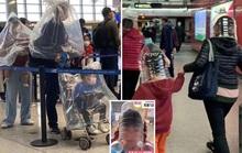 Trung Quốc: Tài xế taxi mặc bảo hộ kín mít, người dân đội thùng nhựa ra đường