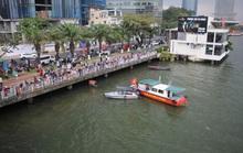 Người đàn ông nhảy cầu sông Hàn chiều mùng 6 Tết